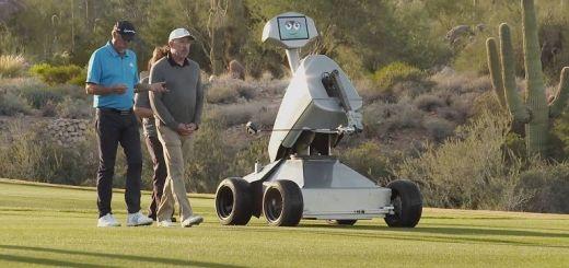 ldric - LDRIC, el robot que hace hoyo en un solo golpe