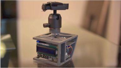 soportecamara Soporte controlado por Arduino para hacer Time-Lapse