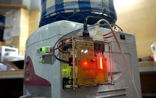 agua con Arduino