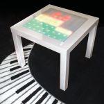 Convierte una mesa de Ikea en un visualizador de música con Arduino
