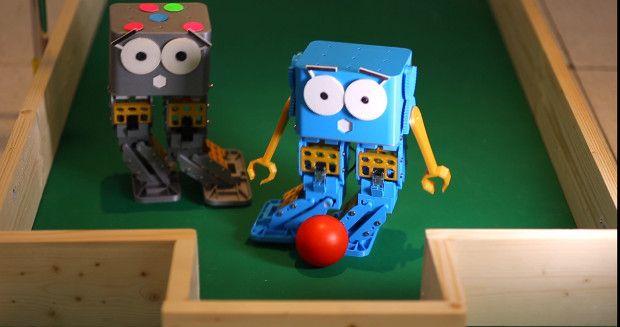Marty, un simpático robot para niños, profesores y makers