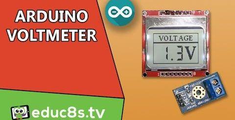 voltímetro con Arduino