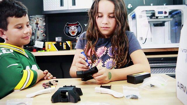 talonx12 - Talon X1, un dron imprimible en 3D para enseñar a los niños tecnología
