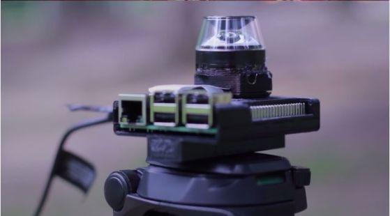 camara360 raspberry pi2 - Cómo construir una cámara de 360 con una Raspberry Pi
