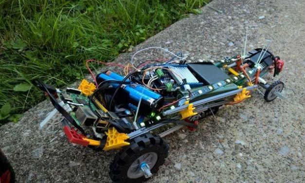 Construye un coche de juguete controlado por la voz