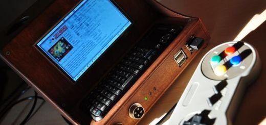 ordenador portátil con una Raspberry Pi