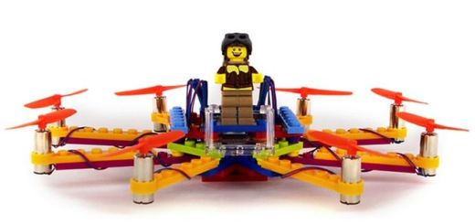 flybrix - Flybrix, fabrica tu propio drone con piezas de LEGO