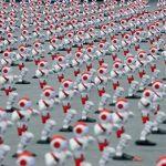 1007 robots humanoides rompen el récord Guinness bailando