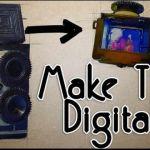 Construye una cámara reflex de dos objetivos con una Raspberry Pi