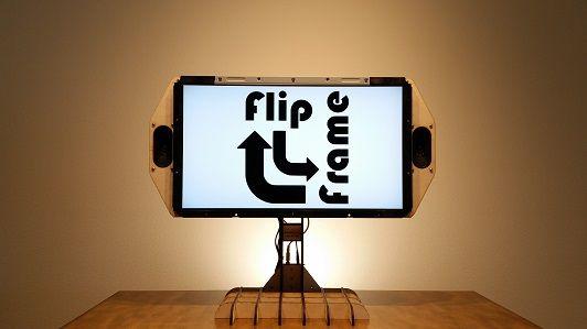 FlipFrame, un marco para fotos inteligente con Arduino y Raspberry Pi