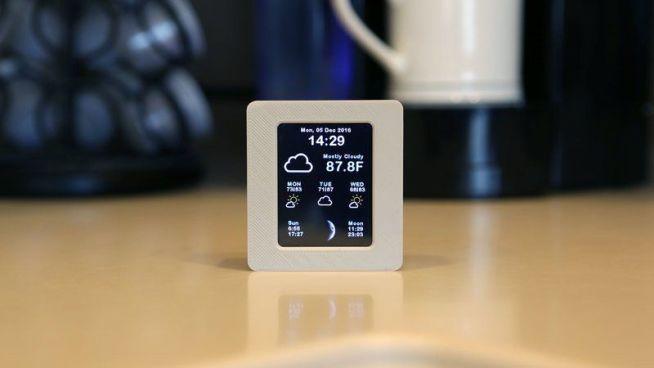 estacion-meteorologica1 Tutorial para crear una estación meteorológica con WiFi y pantalla con Arduino