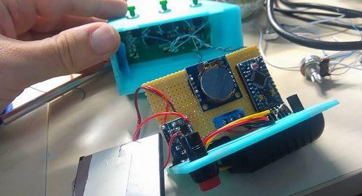 reloj arduno pro micro2 - Construye un reloj digital con aviso de temperatura con Arduino Pro Micro