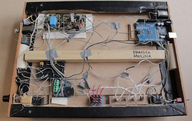 amplificador2 Controla el amplificador de tu guitarra eléctrica con Arduino
