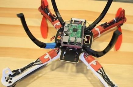 construye-un-drone1 Construye un drone con streaming de vídeo con tu Raspberry Pi