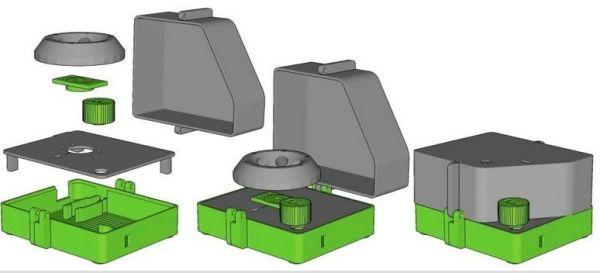 centrifugadora3 - Extrae ADN en casa con esta centrifugadora fabricada con impresión 3D y Arduino