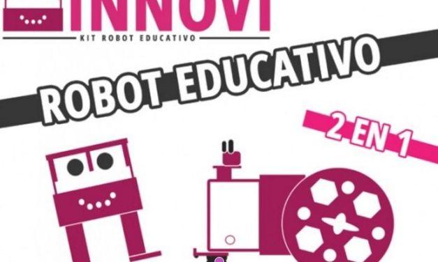 Innovi, un robot educativo de código abierto compatible con Arduino