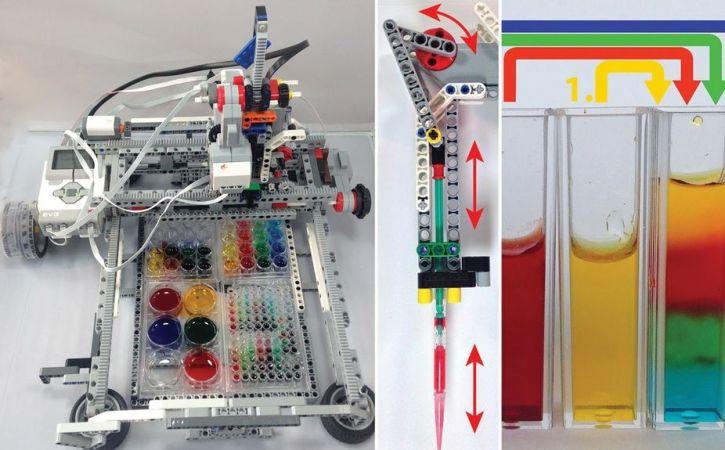robot-laboratorio-725x450 Estudiantes construyen un laboratorio robotizado con LEGO