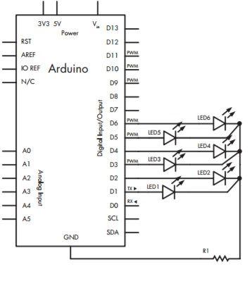 dado-arduino Aprende a construir un sencillo lanzador de dados