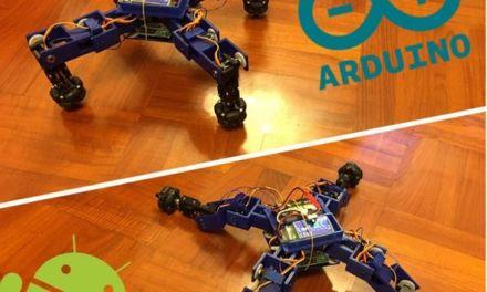 Spiderbot V2. Construye un Transformer con Arduino e impresión 3D