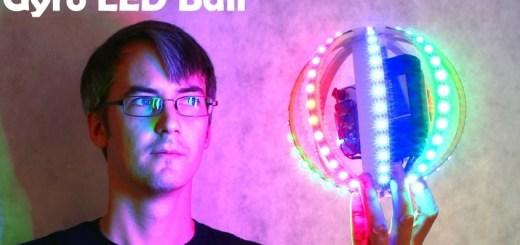Cómo construir una bola LED RGB controlada por un giroscopio y Arduino