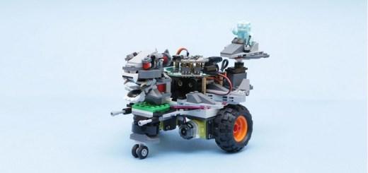 rover robot de LEGO