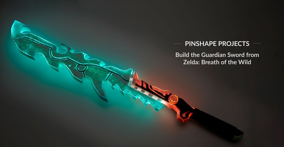 Imprime en 3D tu propia Espada de Guardian de Zelda: Breath of the Wild
