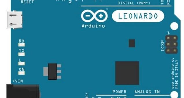 Arduino leonardo - Arduino - Keyboard Serial