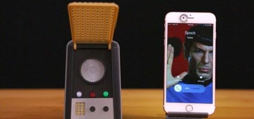comunicador star trek - Imprime en 3D el Comunicador de Star Trek