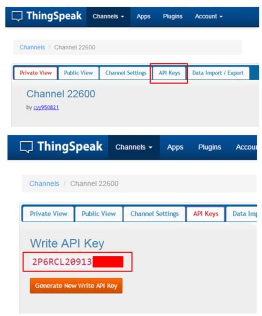 api para Thingspeak