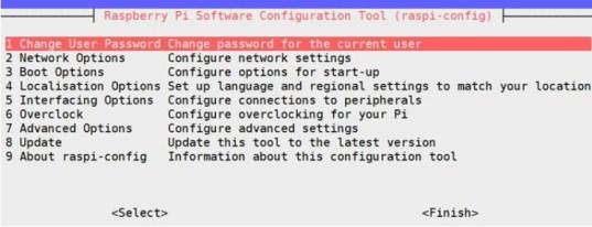 configuration tool raspberry pi