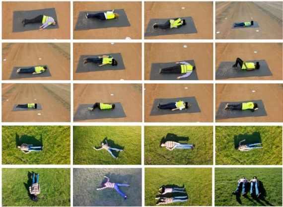 datos de heridos drones