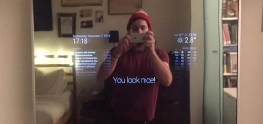 espejo inteligente con Raspberry Pi y Alexa