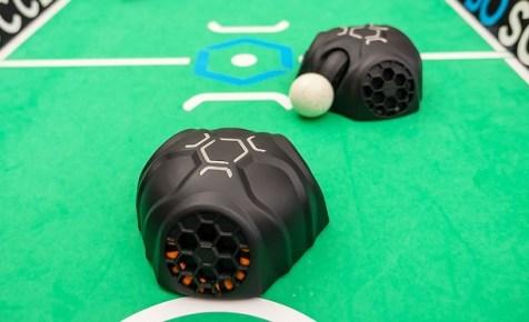 futbolin de robots