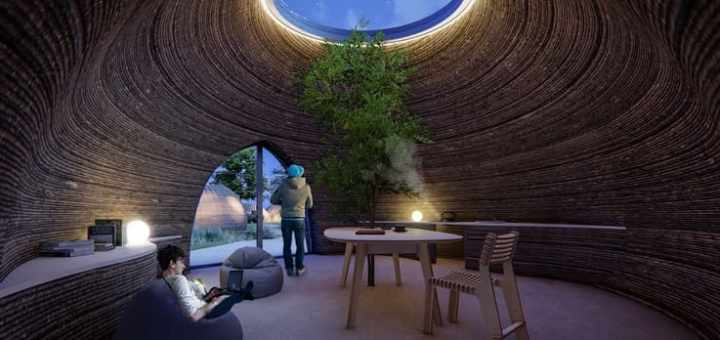 prototipo de casa impresa en 3D