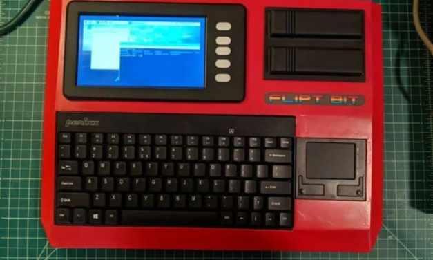 Raspberry Pi Cyberdeck inspirado en el ordenador MSX de los años 80