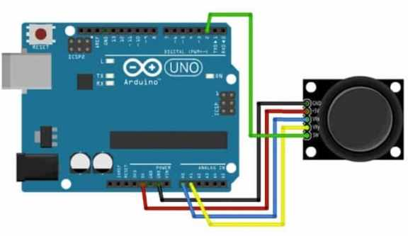 joystick arduino - 9 Sensores para Arduino que debes aprender a utilizar
