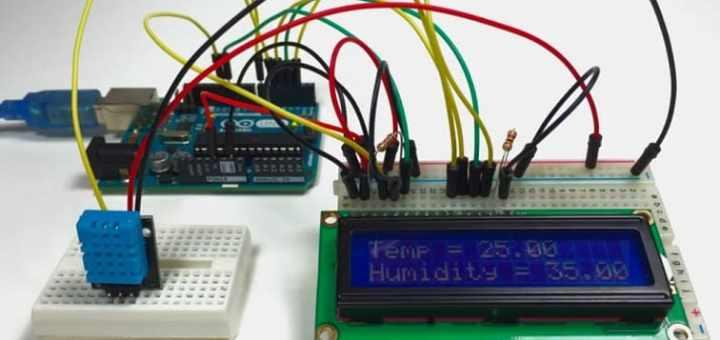 arduino y sensor DHT11