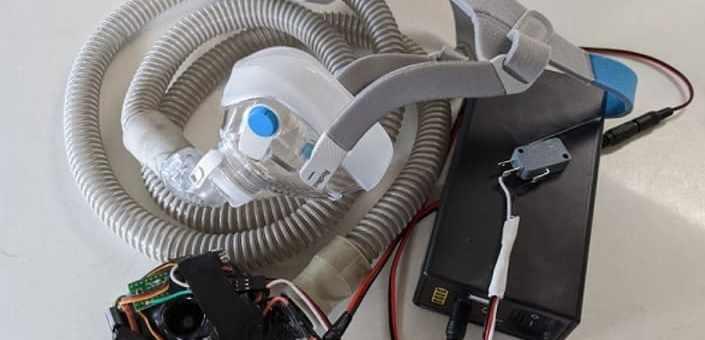 ventilador arduino contra el coronavirus
