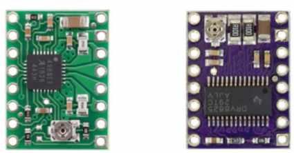 A4899 vs DRV8825 - Cómo controlar un motor de pasos con el conductor DRV8825 y Arduino