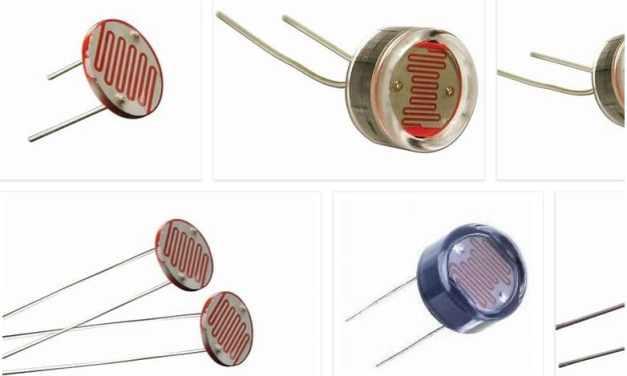 LDR o Resistencia dependiente de la luz, Light Dependent Resistor