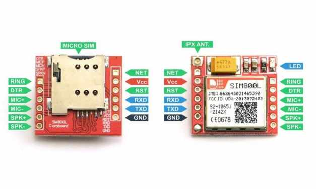 Enviar Recibir SMS y llamar con el módulo SIM800L GSM y Arduino