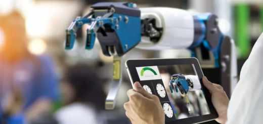 brazo robótico industrial