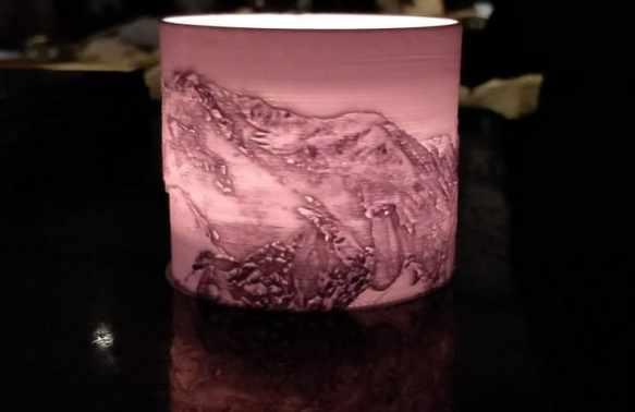 vela con litofania - Cómo imprimir en 3D tu propia Litofanía