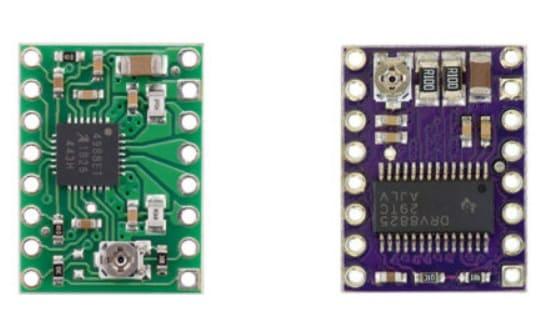 diferencias A4988 y DRV8825 - Cómo controlar un motor paso a paso con el A4988 y Arduino