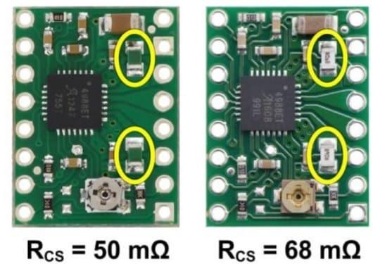 limite de corriente resitencia - Cómo controlar un motor paso a paso con el A4988 y Arduino