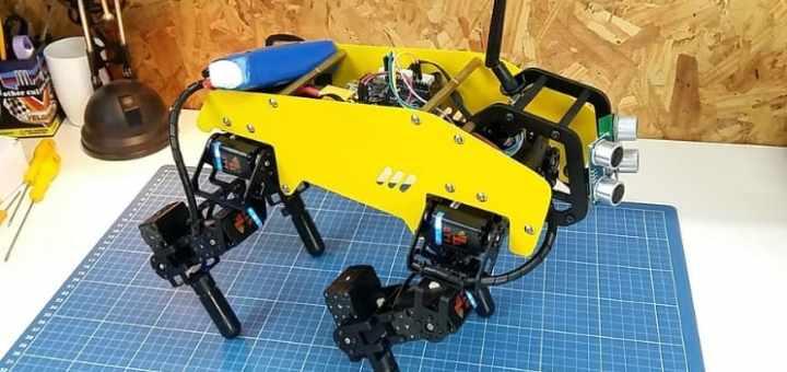 robot autonomo de 4 patas