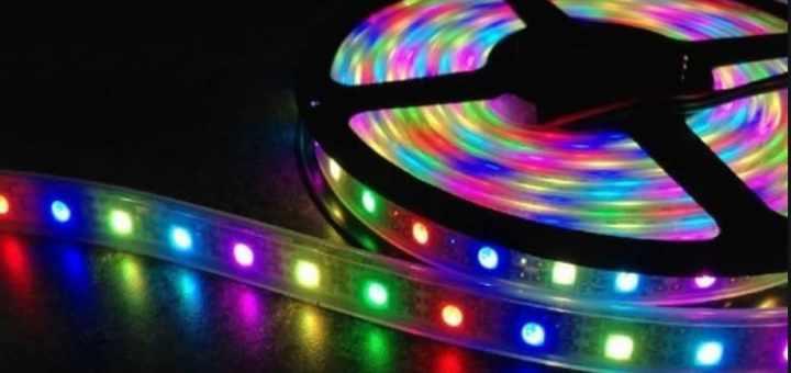controlador de tiras LED RGB basado en ESP8266 IoT