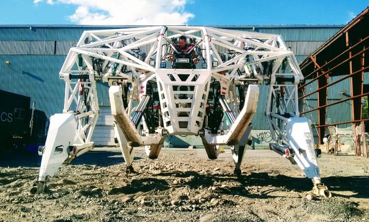 Prosthesis - Por 1.515 dólares puedes dar una vuelta en Prosthesis, una bestia robótica