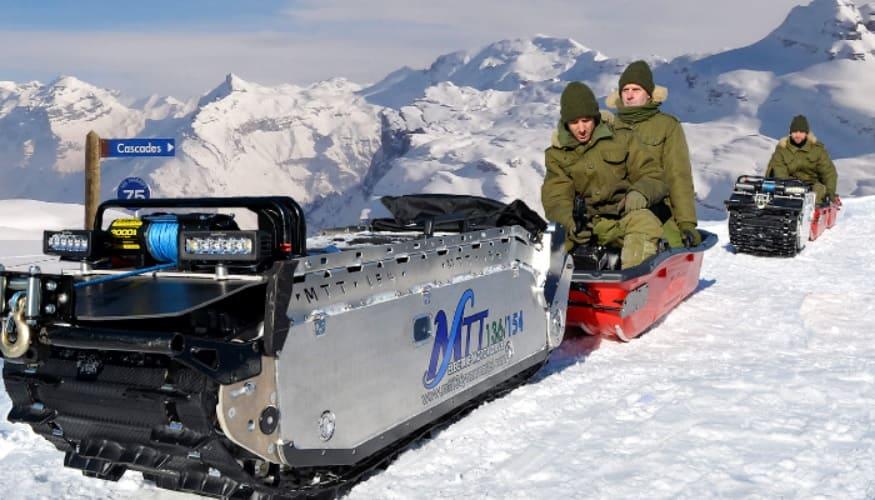 vehiculo de salvamento impresion 3d - My Track Technology impulsa el desarrollo de vehículos de rescate eléctricos con impresión en 3D