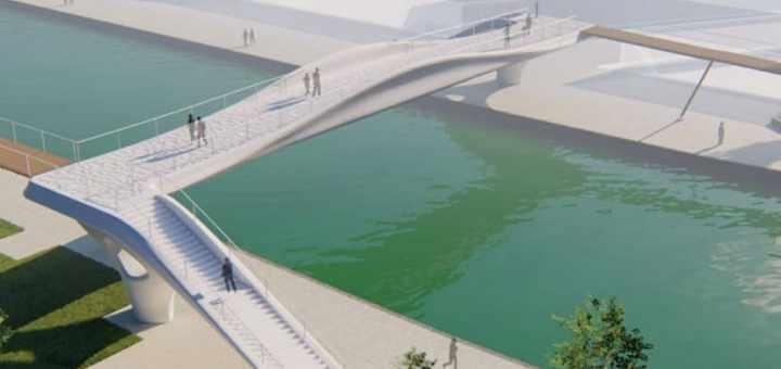 Puente impreso en 3D en París